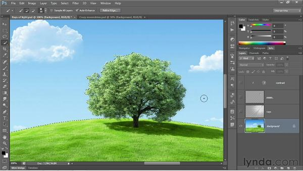 Quick Selection and Similar: Photoshop CS6 One-on-One: Fundamentals