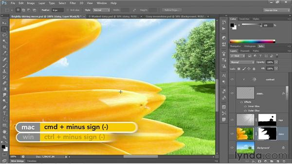 Refine, integrate, and complete : Photoshop CS6 One-on-One: Fundamentals