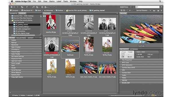Renaming images: Photoshop CS6 for Photographers