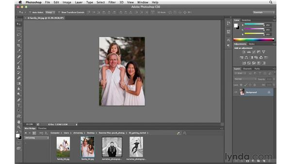 Working with Mini Bridge: Photoshop CS6 for Photographers