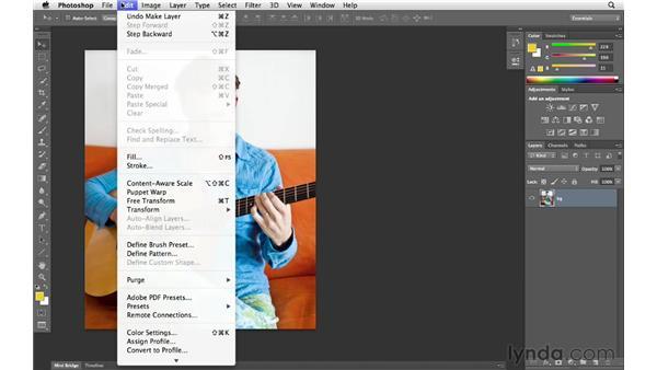 Setting image interpolation preferences: Photoshop CS6 for Photographers