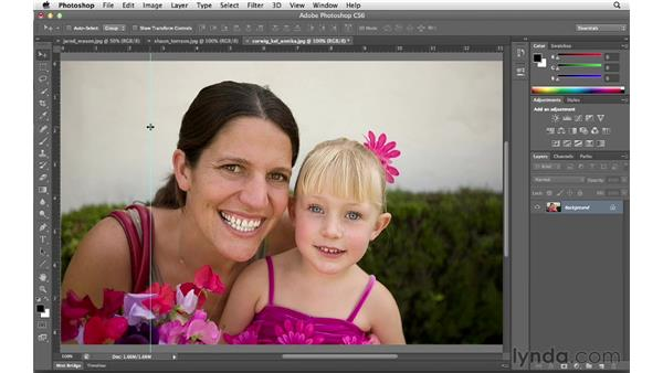 Reviewing guides and type preview preferences: Photoshop CS6 for Photographers