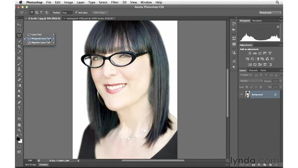 Introducing the Tools panel: Photoshop CS6 for Photographers