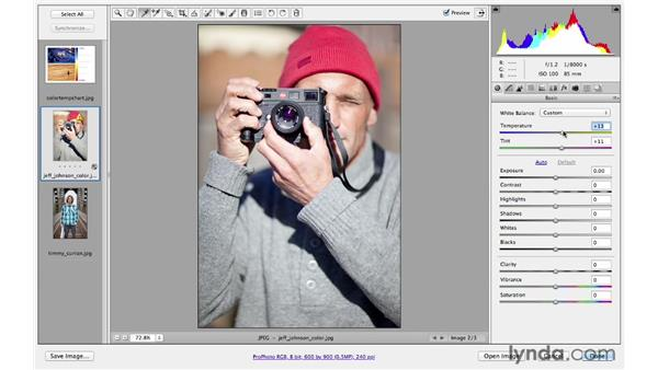 Correcting color and white balance: Photoshop CS6 for Photographers