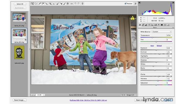 Processing multiple images at once: Photoshop CS6 for Photographers