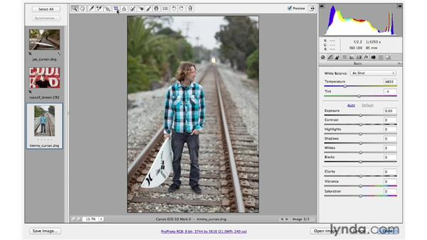 Utilizing the Crop tool to recompose your pictures: Photoshop CS6 for Photographers