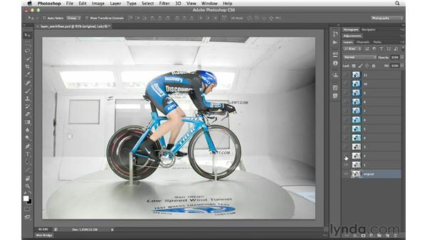Introducing layers: Photoshop CS6 for Photographers