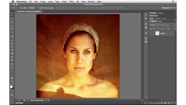 Filtering and finding layers: Photoshop CS6 for Photographers