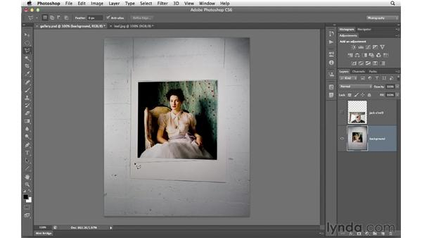 Using the three lasso tools: Photoshop CS6 for Photographers
