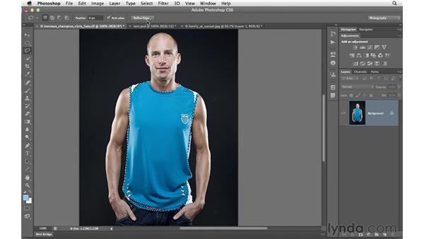 Selecting based on color with the Color Range controls: Photoshop CS6 for Photographers