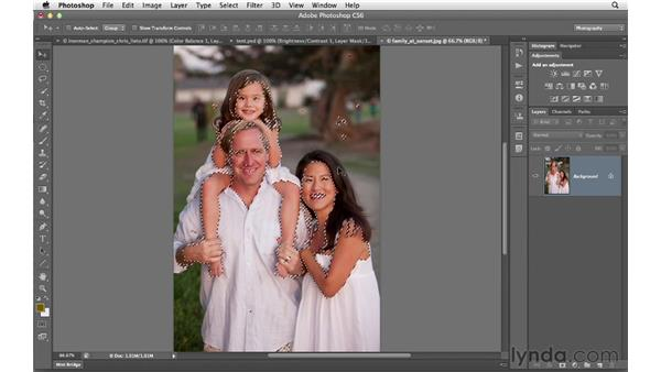 Correcting skin tones with Color Range: Photoshop CS6 for Photographers