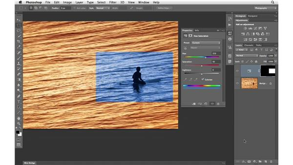 Using a selection to build a mask: Photoshop CS6 for Photographers