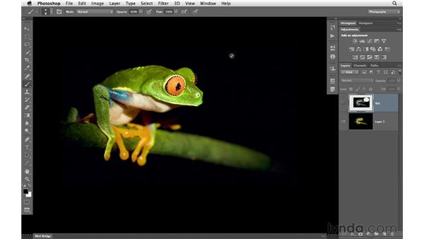 Making selections with Quick Mask : Photoshop CS6 for Photographers