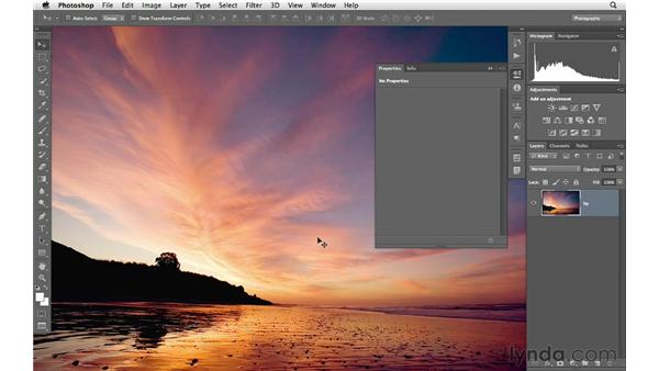Enhancing color and tone with levels: Photoshop CS6 for Photographers