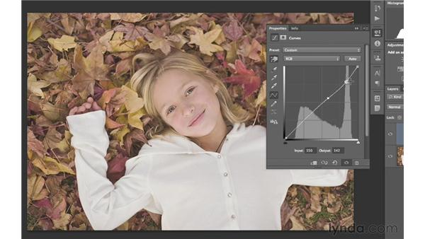 Using auto curves and adjustments to enhance an image: Photoshop CS6 for Photographers