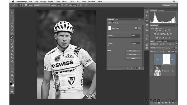 Using curves and masks to improve tone and color: Photoshop CS6 for Photographers