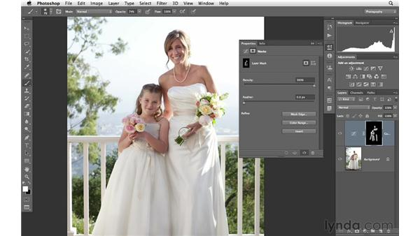 Making advanced selections and masks: Photoshop CS6 for Photographers