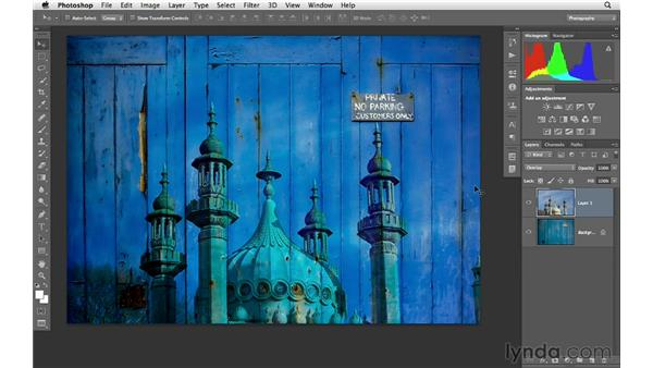 Blending multiple images together: Photoshop CS6 for Photographers