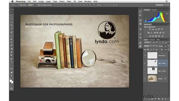 Using blending modes to remove white or black: Photoshop CS6 for Photographers