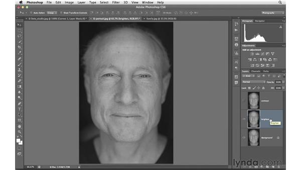 Improving exposure, contrast, and color with blending: Photoshop CS6 for Photographers