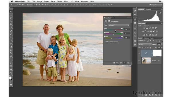 Using Color Balance to create vivid color: Photoshop CS6 for Photographers
