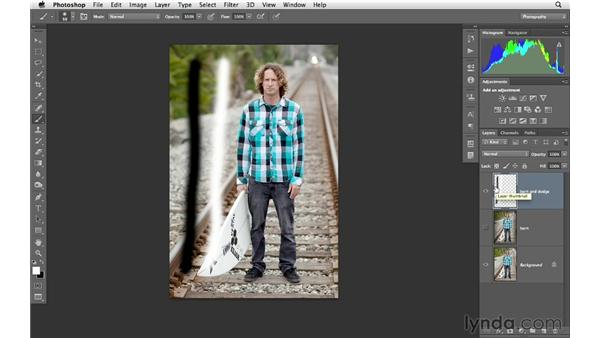 Introducing two burn and dodge techniques: Photoshop CS6 for Photographers