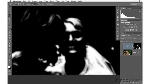 Using selections, masks, and curves to change tonality: Photoshop CS6 for Photographers