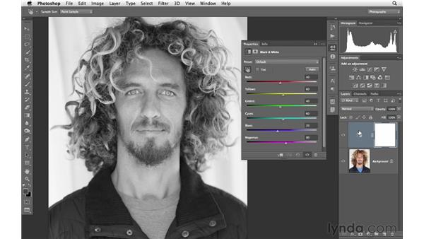 The power of black and white: Photoshop CS6 for Photographers
