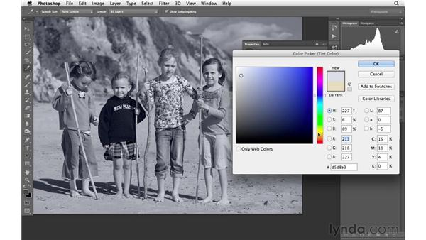 Converting a portrait to black and white: Photoshop CS6 for Photographers