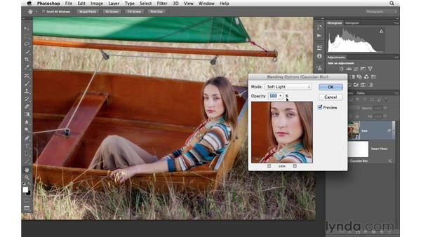 Applying Smart Filters: Photoshop CS6 for Photographers