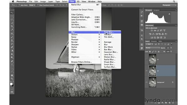 Creating a soft contrast effect: Photoshop CS6 for Photographers