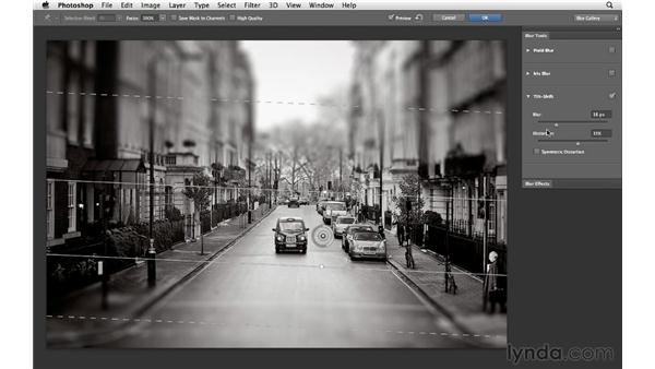 Working with Tilt-Shift Blur: Photoshop CS6 for Photographers