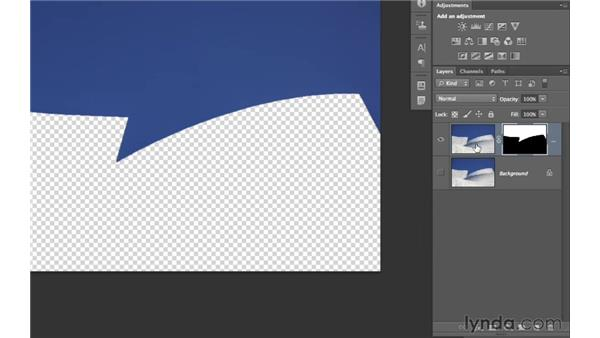 Masking in noise reduction to a specific area: Photoshop CS6 for Photographers