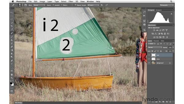 Introducing the healing and cloning tools: Photoshop CS6 for Photographers
