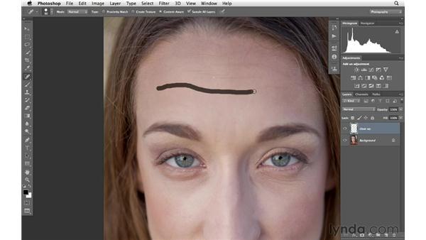 Basic portrait retouching: Photoshop CS6 for Photographers
