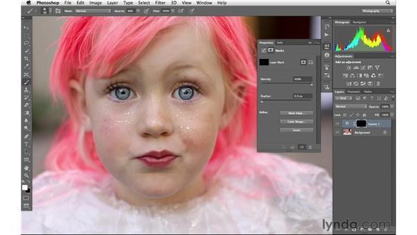 Brightening the eyes: Photoshop CS6 for Photographers