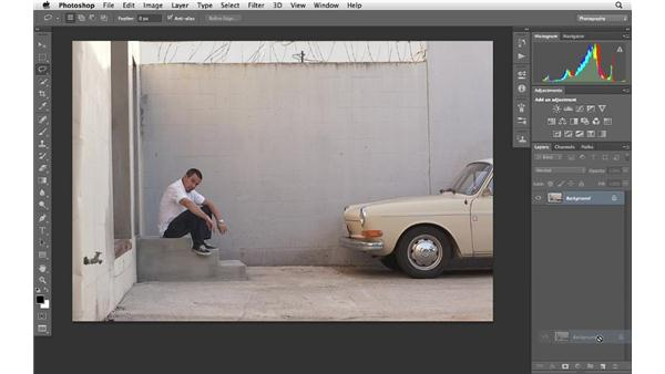 Using Content-Aware Fill to remove distractions: Photoshop CS6 for Photographers