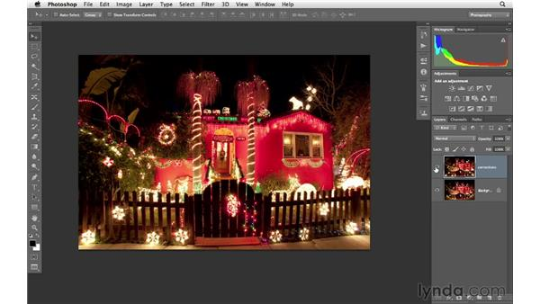 Reducing exaggerated distortion : Photoshop CS6 for Photographers