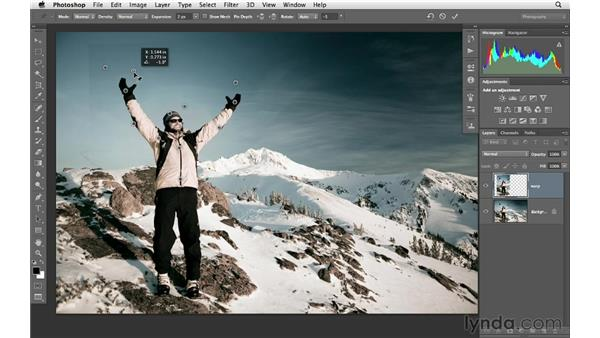 Using Puppet Warp to correct perspective: Photoshop CS6 for Photographers