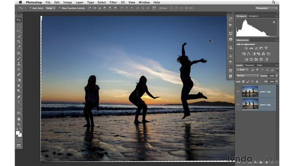 Combining two photos with movement: Photoshop CS6 for Photographers