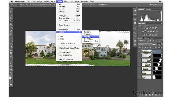 Cropping, filling in the gaps, and making final panographic adjustments: Photoshop CS6 for Photographers