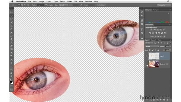 Selective sharpening with hand-drawn masks: Photoshop CS6 for Photographers