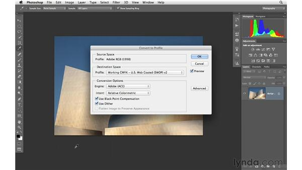 Preparing images for the web and email: Photoshop CS6 for Photographers