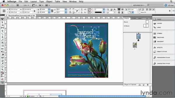 034 Changing document orientation and page size: InDesign Secrets