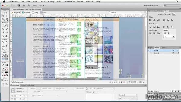 Working with Web Layers: Fireworks CS6 Essential Training