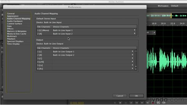 Setting essential preferences: Audition CS6 Essential Training