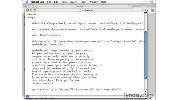 text decoration: CSS2 Essential Training (2003)