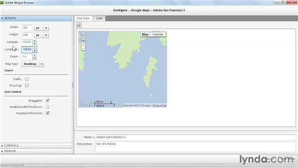 Using the Widget Browser: Dreamweaver CS6 Essential Training