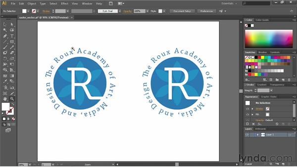 Understanding vector graphics: Illustrator CS6 Essential Training