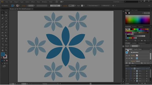 Exploring the panels: Illustrator CS6 Essential Training